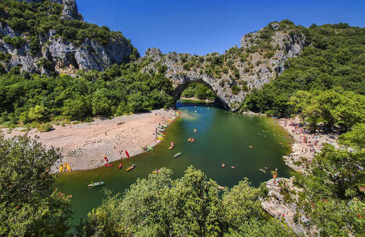 Pitch Only Campsites in Ardeche, France