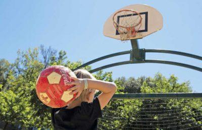 La Palombiere Campsite Basketball
