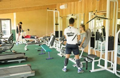 La Palombiere Campsite Gym