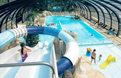 La Palombiere Campsite Indoor Pool Watersides