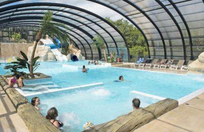 La Palombiere Campsite Indoor Pool