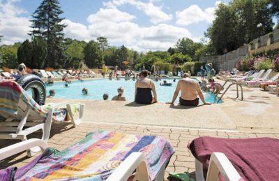 La Palombiere Campsite Pool Loungers