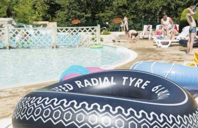 La Palombiere Campsite Pool Ring