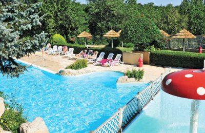La Palombiere Campsite Pool