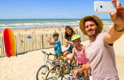 Atlantic Club Montalivet Family Cycling Fun