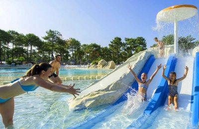 Atlantic Club Montalivet Pool Slides