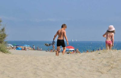 Cala Gogo Beach Dunes