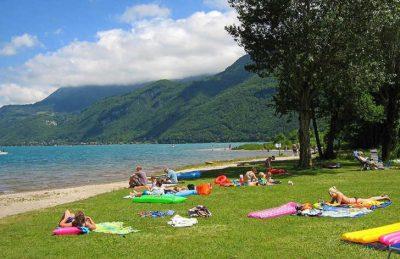 Campeole La Nubliere Lake Annecy Relaxing