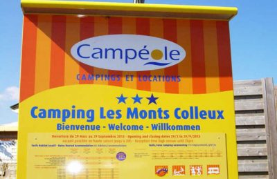 Campeole les Monts Colleux Welcome