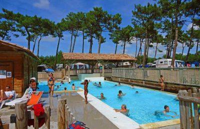 Campeole les Tourterelles Pool Complex