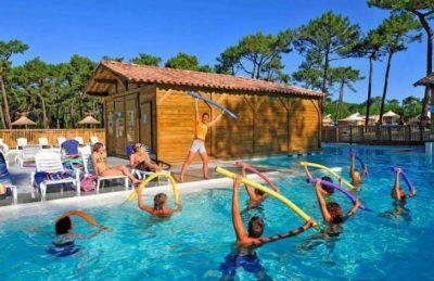 Campeole les Tourterelles Pool Fitness Class