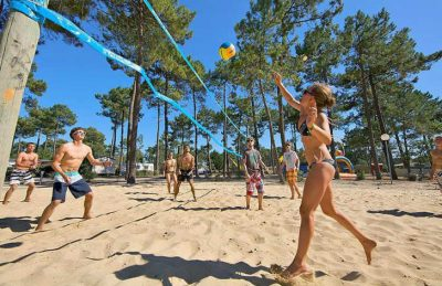 Campeole Medoc Plage Pitch Only Beach Volleyball