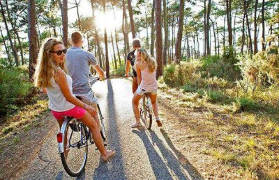 Campeole Medoc Plage Cycle Rides