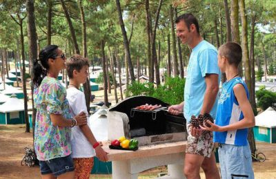 Campeole Plage Sud Pitch Only Barbeque
