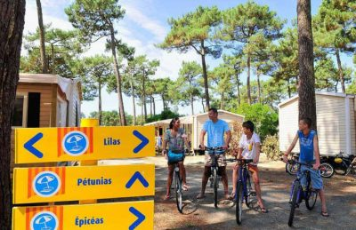 Campeole Plage Sud Pitch Only Cycle Hire