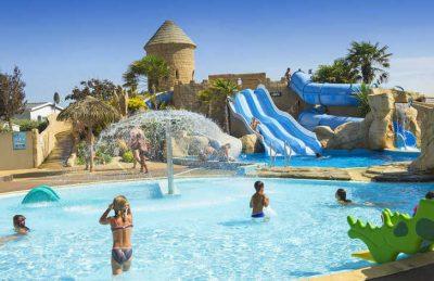 Camping Acapulco Swimming Pool Slides