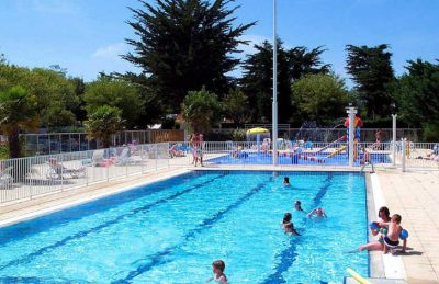 Camping Amiaux Swimming Pool