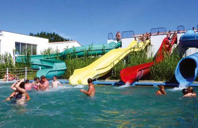 Camping Amiaux Waterslides