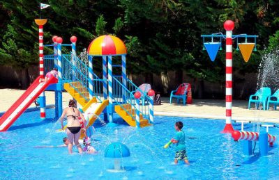 Camping Amiaux Children's Swimming Pool