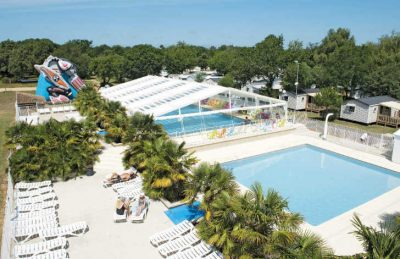 Camping Atlantique Parc Covered Pool
