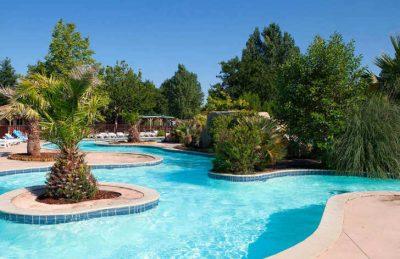 Camping Aurilandes Pool Complex
