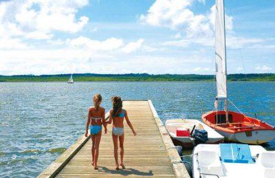 Camping Azu Rivage Jetty Sailing