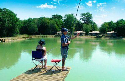 Camping Bois du Bardelet Fishing Lake