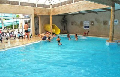 Camping Bois Soleil Indoor Swimming Pool