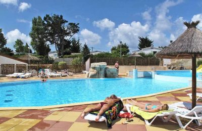 Camping Bois Soleil Swimming Pool Area