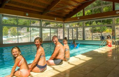 Camping Chateau de Boisson Indoor Swimming Pool