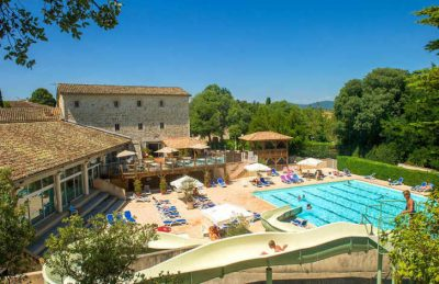 Camping Chateau de Boisson Swimming Pool Complex
