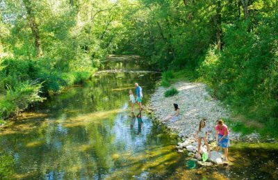 Camping Chateau de Boisson River