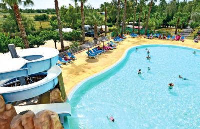 Camping Club l'Air Marin Swimming Pool Area
