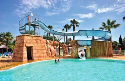 Camping Club l'Air Marin Swimming Pool Slides