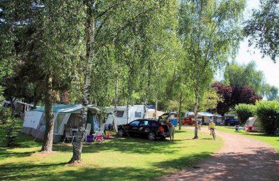 Camping de l'Etang de Fouche Pitch