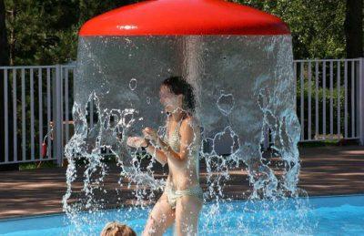 Camping de l'Etang de Fouche Pool Fun