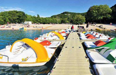Camping Domaine de Chalain Boat Hire