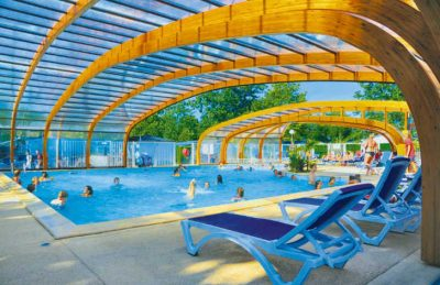 Camping Domaine de la Marina Covered Pool