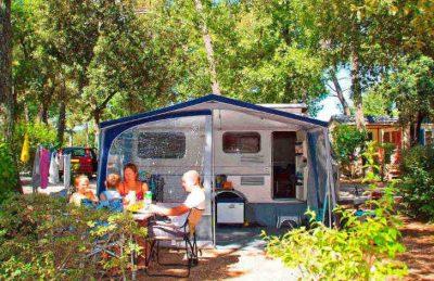 Camping Domaine de la Sainte Baume Caravan Pitch