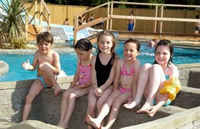 Camping Domaine de Leveno Children's Pool