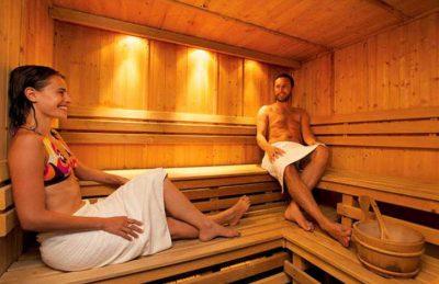 Camping Domaine de Soulac Sauna