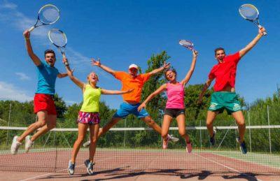 Camping Domaine d'Eurolac Tennis