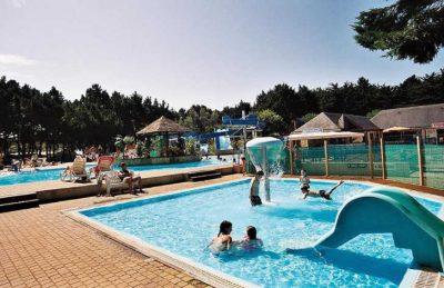 Fantastic kids swimming pool with children's slide