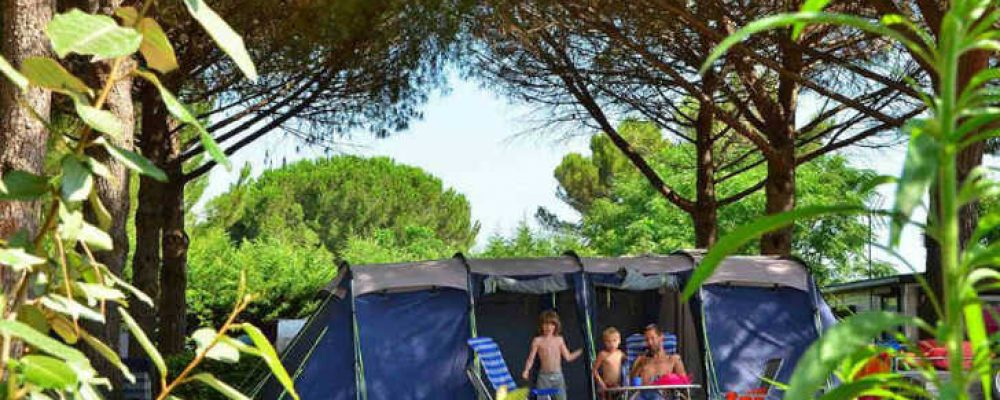 Camping in France in your own tent