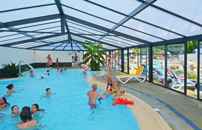 Camping La Touesse Covered Pool