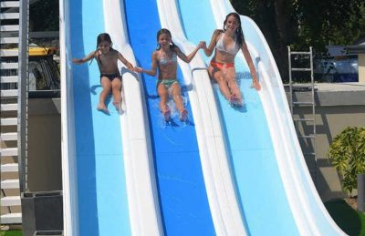 Camping La Touesse Waterslides