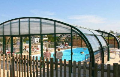 Camping L'Aiguille Creuse Covered Swimming Pool