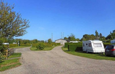 Camping L'Aiguille Creuse Campsite Pitch