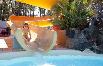 Camping le Bonne Anse Kids Slide Fun