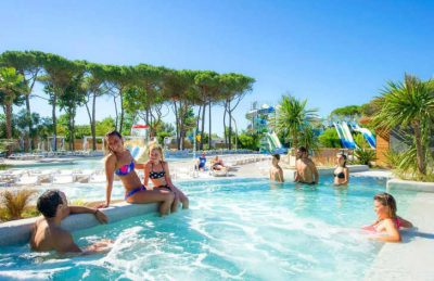 Camping le Castellas Family Swimming Pool